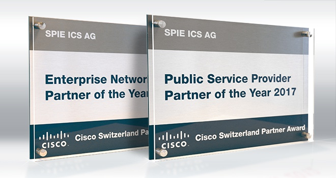 SPIE RECEIVES TWO CISCO AWARDS