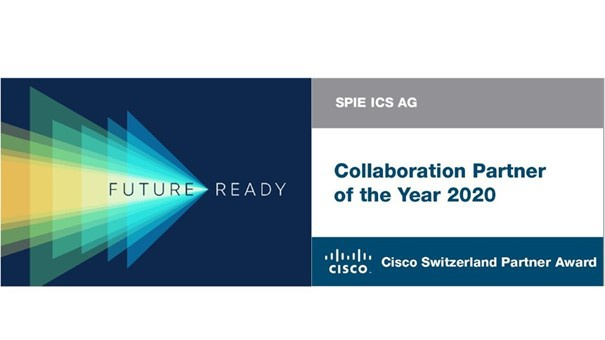 SPIE Suisse reçoit le Cisco Collaboration Partner Award 2020